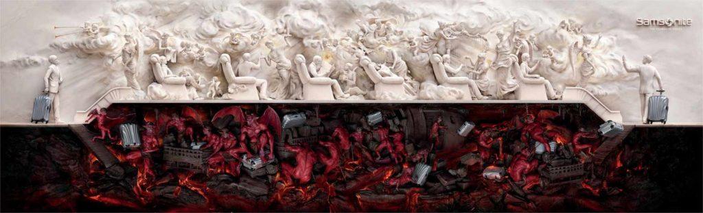 Heaven and Hell, Samsonite